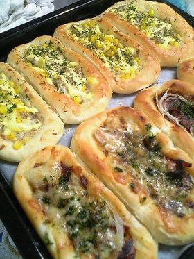 簡単*調理パン~マヨツナ~