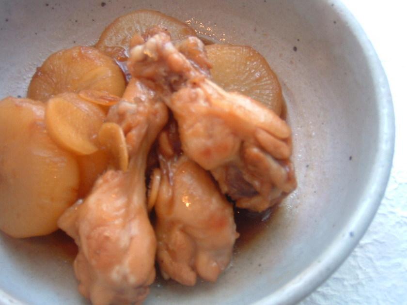 鶏手羽元と大根の照りとろ煮