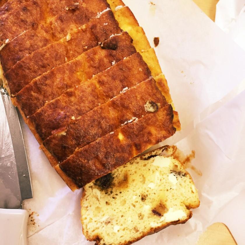 生おからでパウンドケーキ