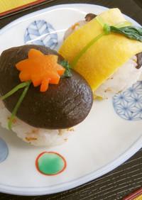 ひな祭り!パクッと一口サイズの手まり寿司