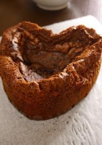 トースターで作るガトーショコラ