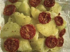 ポテトのドライトマト和え