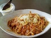お店の味☆ツナとトマトのパスタの写真