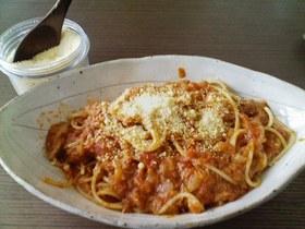 お店の味☆ツナとトマトのパスタ