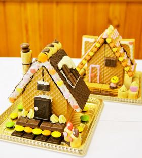親子で楽しくつくれる簡単!☆お菓子の家☆