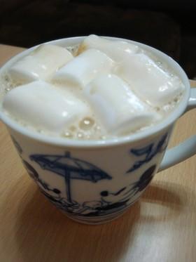 美容ドリンク~紅茶豆乳マシュマロ