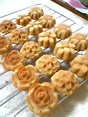 ☆NW社の焼き型で作るマドレーヌ☆