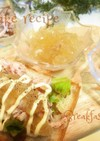 骨付き鶏肉の煮込みの残り物でチキンサンド