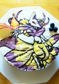 妖怪ウォッチのきゅうびのケーキ