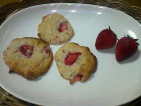いちごミルククッキー