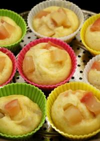 ダッチオーブンでりんごコンポート蒸しパン