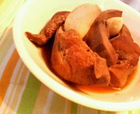 貧血解消☆豚レバーの簡単麺つゆワイン煮♪