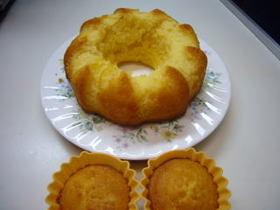 柚子茶のバターケーキ