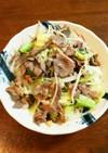 所要時間10分☆ラム肉&野菜炒め