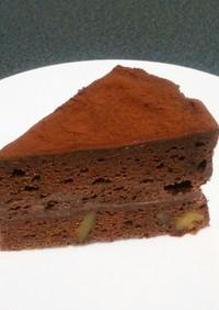 簡単!生クリーム無しで生チョコケーキ♡