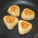 焼きおにぎり♪味噌・醤油・砂糖・残りご飯
