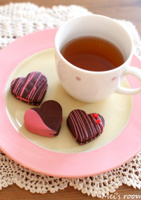バレンタインにも簡単チョコサンドクッキー