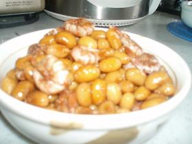 簡単☆えび豆