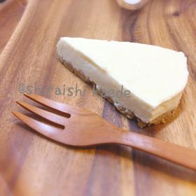 フライパンで簡単バレンタインチーズケーキ
