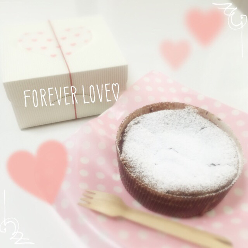 バレンタイン♡本命ガトーショコラ♡