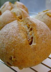 ホシノ使用♪いよかんピールのライ麦パン