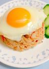夏野菜で☆ガパオ風ヘルシーチャーハン