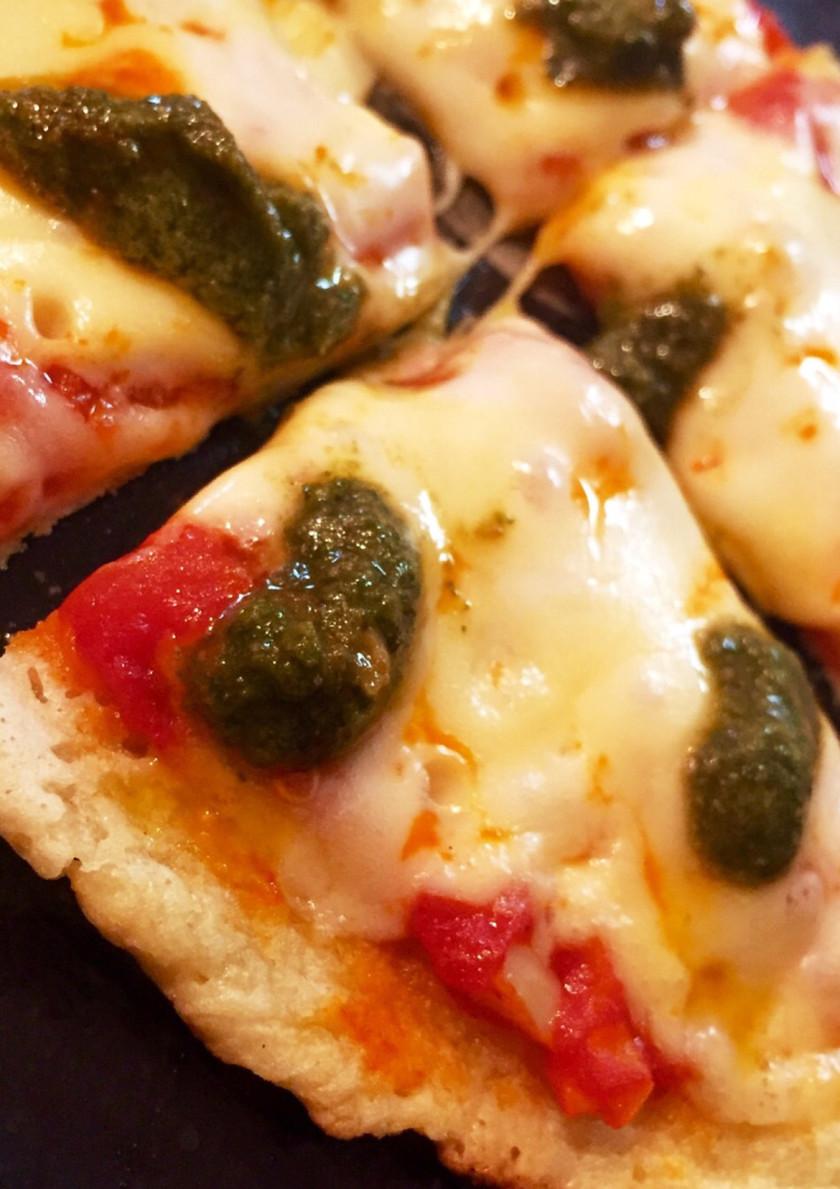 米粉と豆腐でグルテンフリーのピザ生地