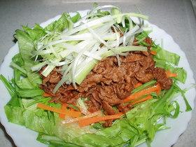 ボリュームたっぷり★お肉のサラダ