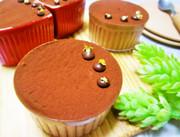 材料2つ超簡単♡濃厚ふわふわチョコムースの写真