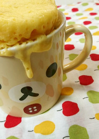 レンチン☆簡単まぐケーキ☆