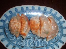行者ニンニクのキムチ味餃子