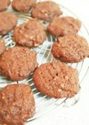 バレンタイン♡簡単チョコドロップクッキー