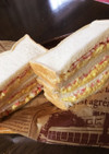 ふわふわ卵焼きとカニかま【サンドイッチ】