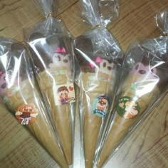 バレンタイン!簡単豪華なミッキーカプリコ