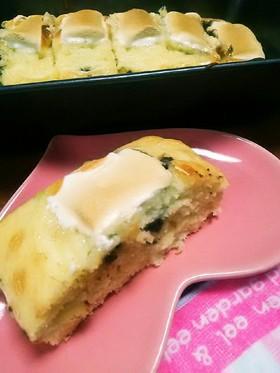 超簡単※焼きマシュマロのパウンドケーキ