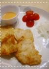 ふわっふわっ鶏と特製卵黄ソース