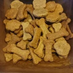 無添加砂糖不使用 全粒粉クッキー犬