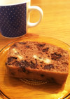 超簡単しっとりチョコバナナケーキ