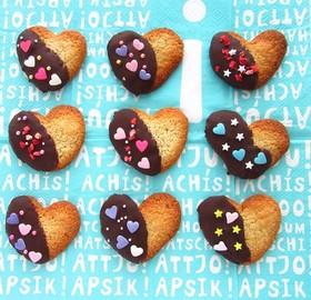 かわいい☆ヘルシー!豆乳の米粉クッキー