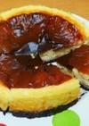 簡単✧苺のベイクドチーズケーキ♡