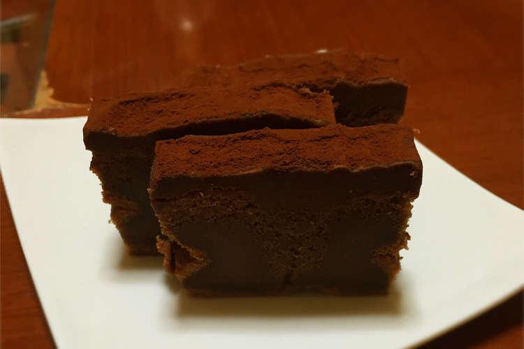 レシピ チョコ ブラウニー