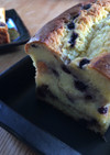クリームチーズとブルーベリーのパウンド