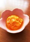 冷凍柿のシャーベット