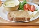 マルチグレインの茶色いパン