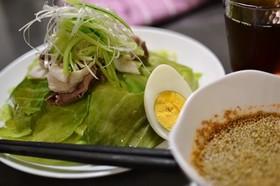 家庭で楽しむ♪広島風つけ麺