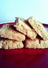 材料3つ♪キャラメルおからソフトクッキー