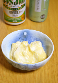 最高の酒の肴『クリームチーズの西京漬け』