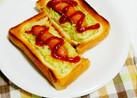 ホットドッグのつもりトースト