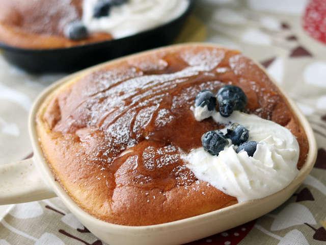 スフレ パン ケーキ オーブン