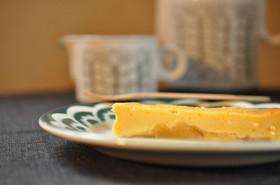 簡単☆2層なりんごのチーズケーキ